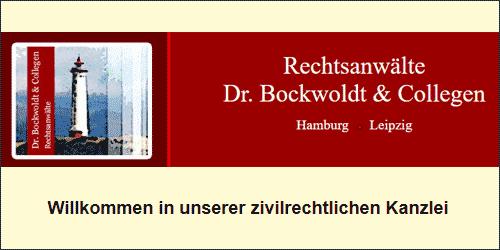 Dr. Bockwoldt & Collegen Rechtsanwälte in Hamburg