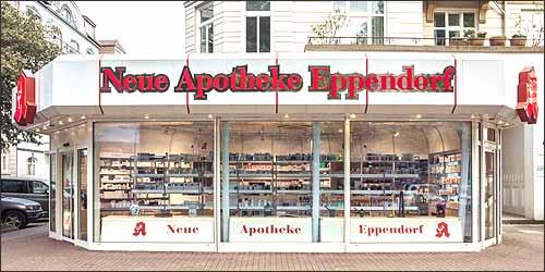 Neue Apotheke in Hamburg Eppendorf