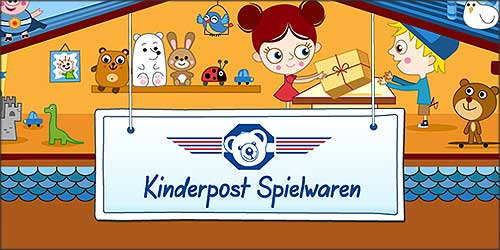 Kinderpost Spielwaren in Hamburg