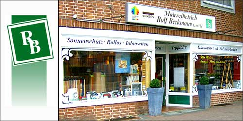Rolf Beckmann Maler und Raumausstatter in Hamburg